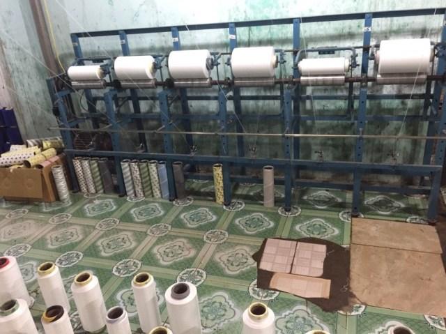 Nguyên vật liệu ngành dệt